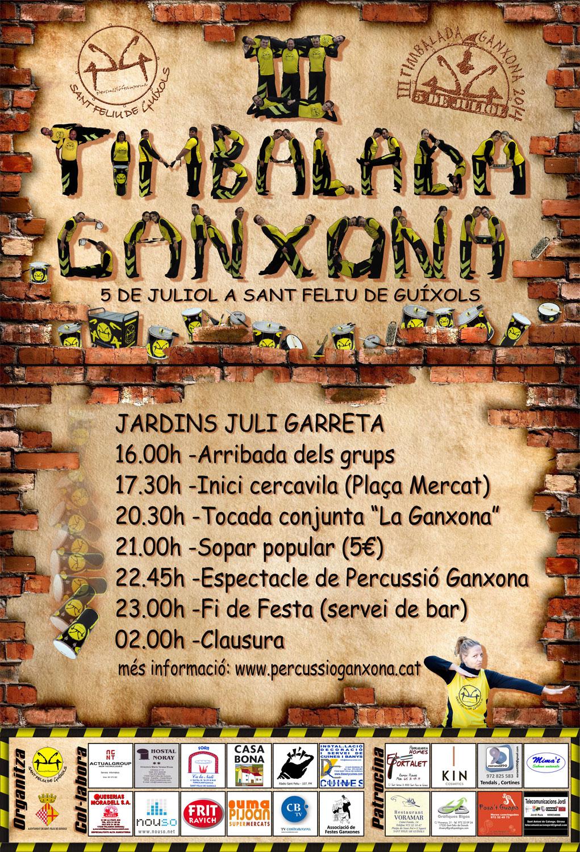 III TIMBALADA GANXONA 2014