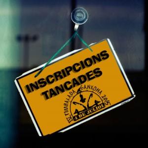 INSCRIPCIONS TANCADES