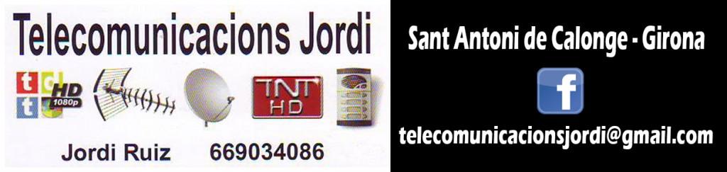 Telecomunicacions Jordi - Col.laborador 2016