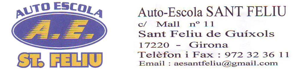 Auto-Escola SANT FELIU - Col.laborador 2017